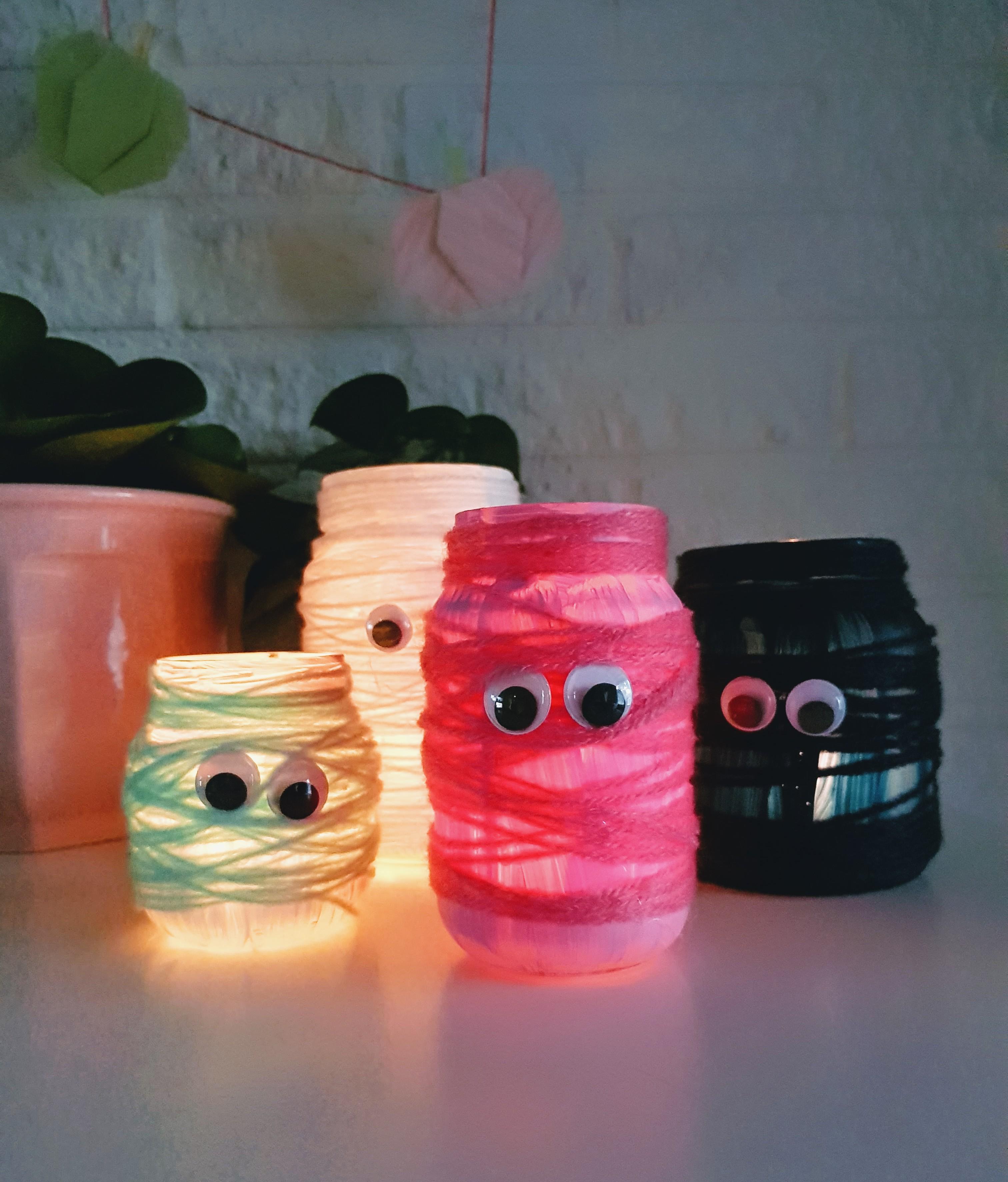 DIY // Mummie sfeerlichtjes