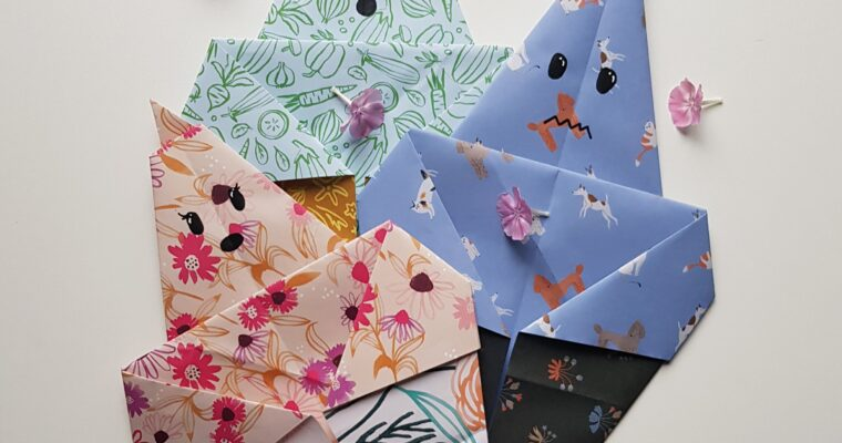 DIY // Origami Spookjes met het papier van Flow Book for Paper Lovers 8