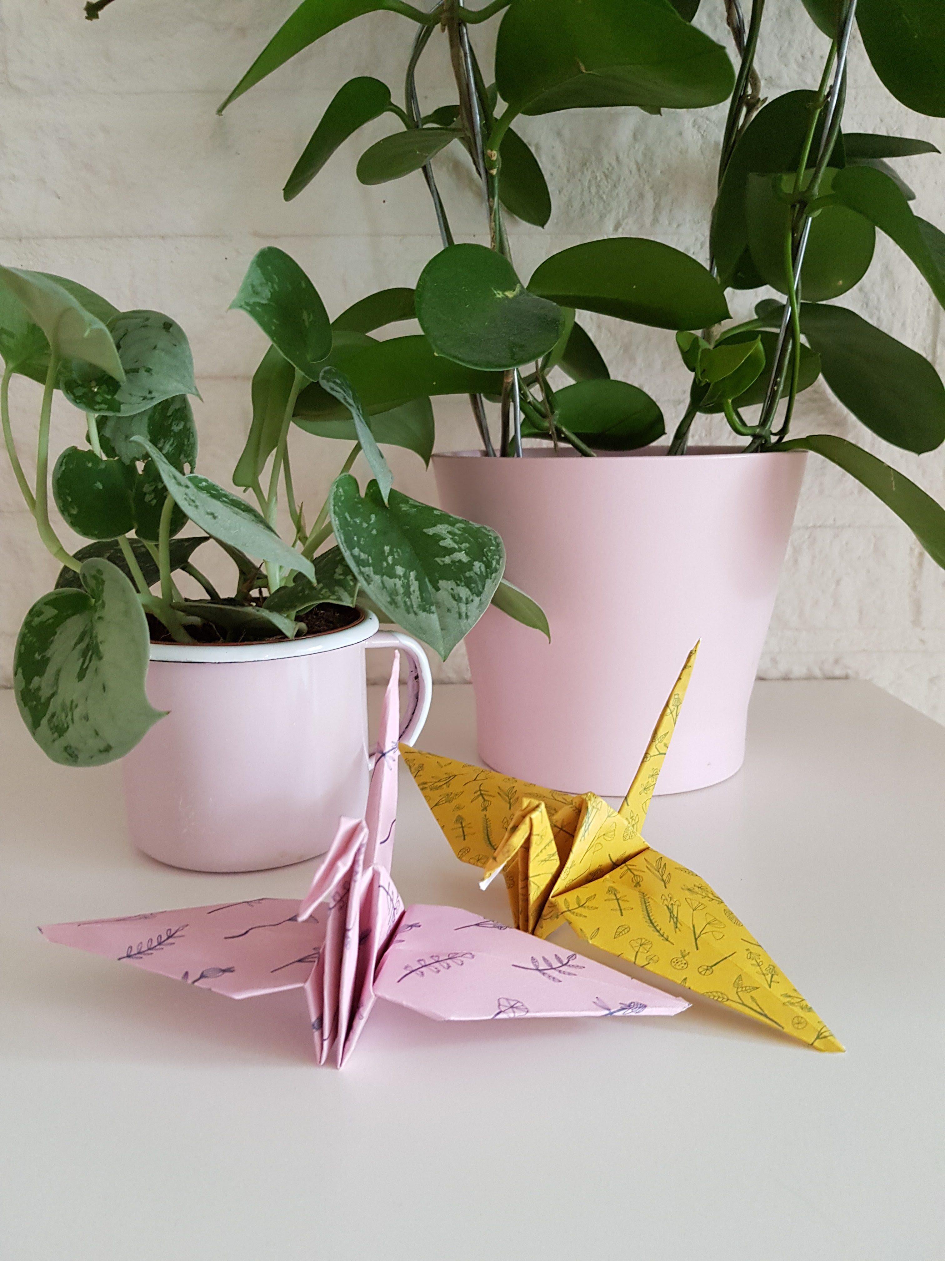 DIY // Paper Cranes