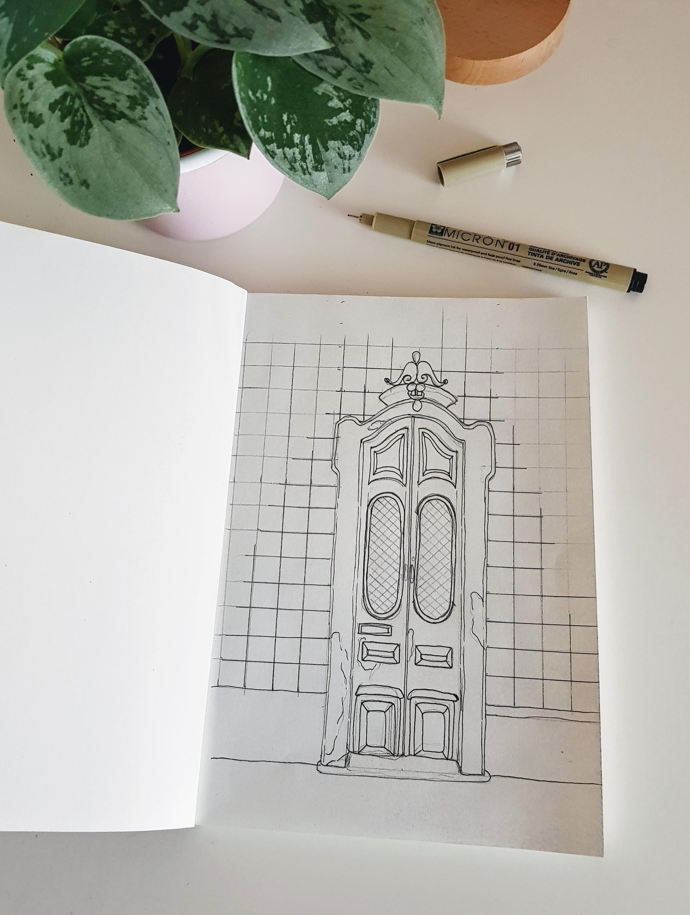 Illustrations // Doors of the World #1