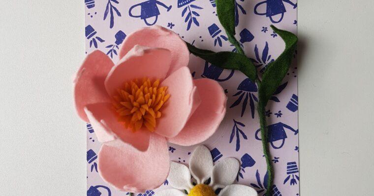 DIY // Vilten bloemen maken met de Viltbloemist Academy + een verrassing!